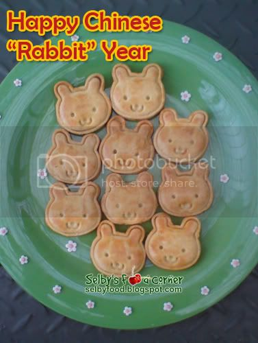 Bunny cookies