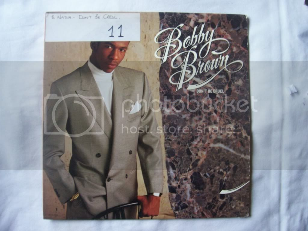 Bobby Brown - Don't Be Cruel Album