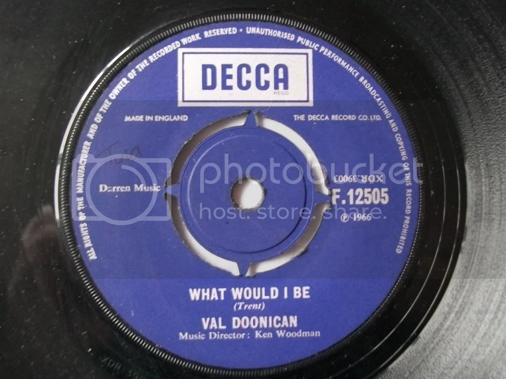 Val Doonican - What Would I Be / Gentle Mary
